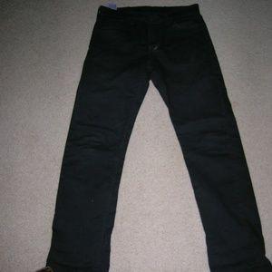 Levis 513 Black Jeans